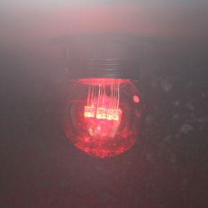 FDL Gekleurde LED Lamp Kogel E27 Rood