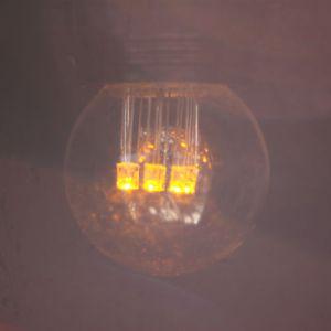 FDL Gekleurde LED Lamp Kogel E27 Geel