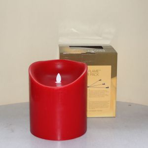 MovinFlame LED Kaars Red 15 x 18cm