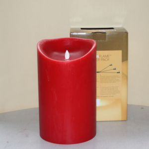 MovinFlame LED Kaars Red 15 x 25cm