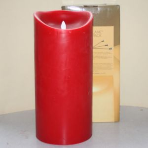 MovinFlame LED Kaars Red 15 x 33cm
