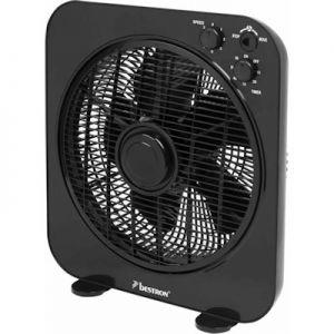 Box ventilator zwart bestron