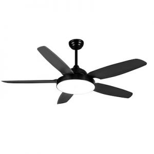 Plafond ventilator no.3 zwart