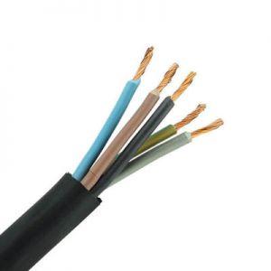 Neopreen kabel 5x2.5