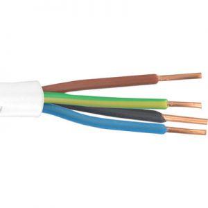 Plastic kabel 4x1.50
