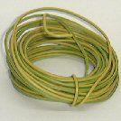 VD draad  1 x 250   geel/groen  100 mete
