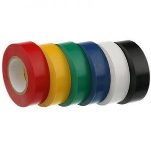 Isolatie tape set 6 rollen