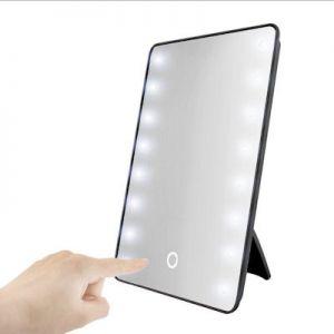 Make-up spiegel met 16 LEDs